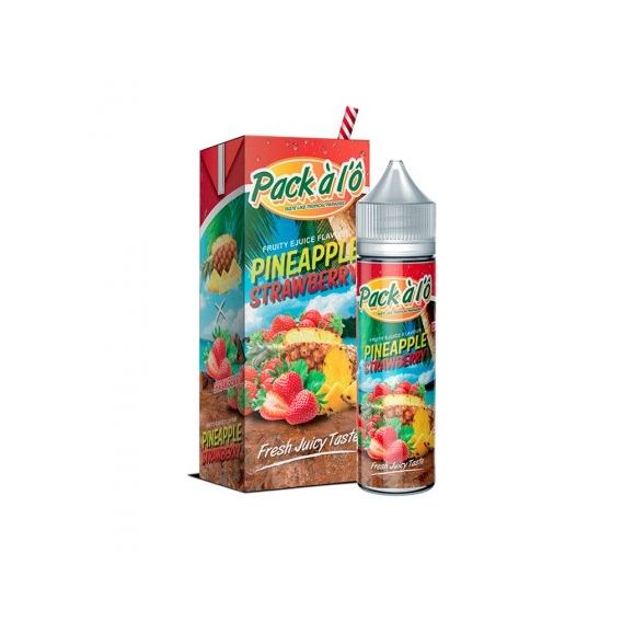 Eliquide  Pineapple Strawberry 50 ml de Pack à L'O