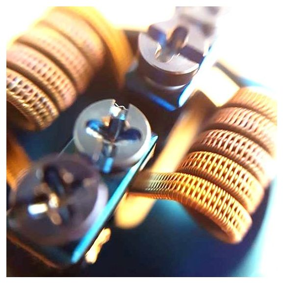 Staggered Fused Clapton 3 âmes 28/38 de Crazy Fun Coil réf STFC3002