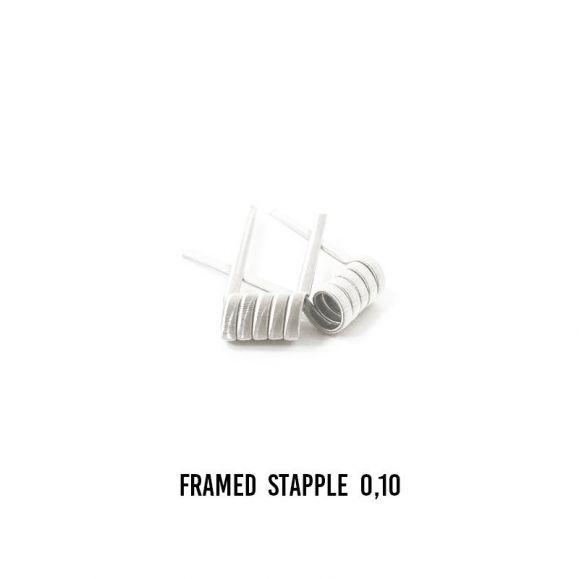 Boîte de 2 coils Framedstaple 0.10 ohm de Jtr