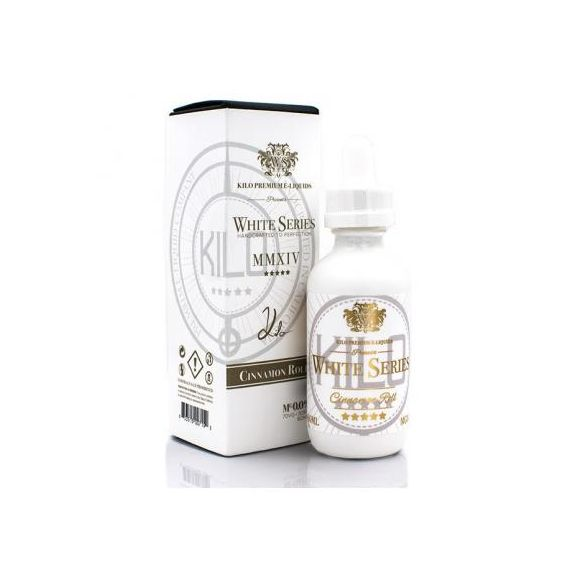 Cinnamon Rolls 50 ml - White Séries de Kilo