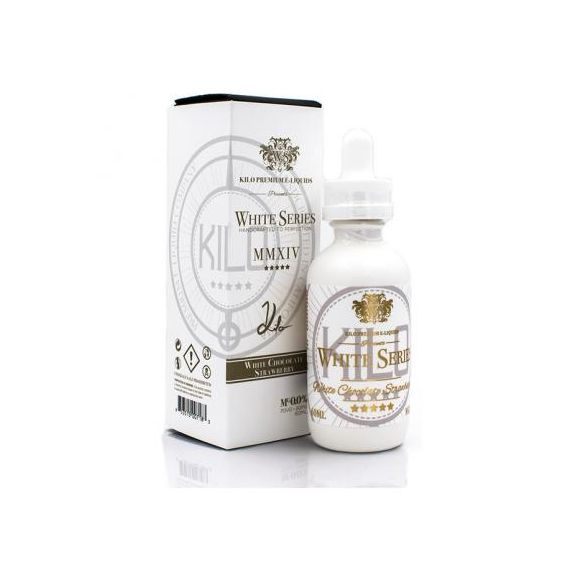 White Chocolate Strawberry 50 ml - White Séries de Kilo