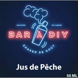 Jus de Pêche 50ml by BAR A DIY