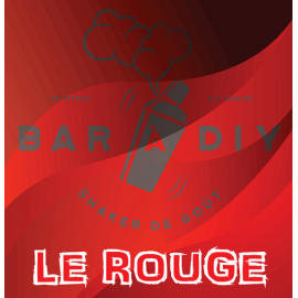 Le rouge Gamme 4 couleurs 50ml by BAR A DIY