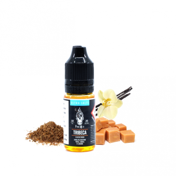 Tribeca 10ml Ultra Salts By Hallo 10mg Sel de nicotine