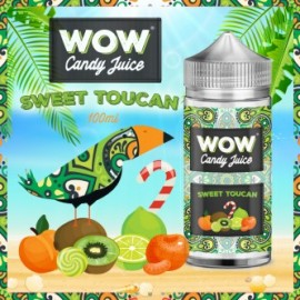 Sweet Toucan 100ml WOW Candy Juice by Made in Vape