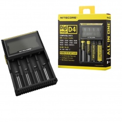 Nitecore Chargeur Digicharger D4