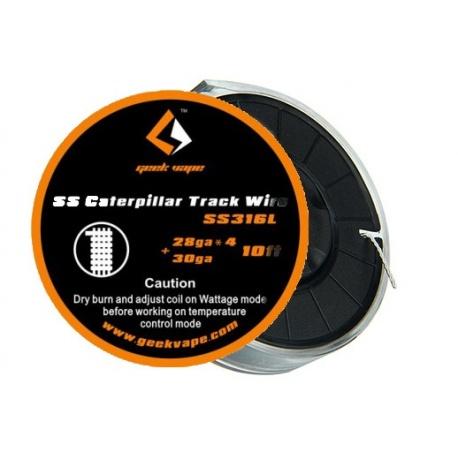Bobine Caterpillar Track SS316