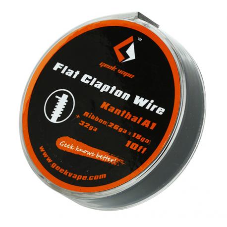 Bobine Flat Clapton Wire Kanthal A1