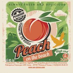 Concentré DIY Peach on the Beach de AOC Juices