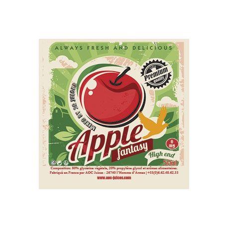 Concentré DIY Apple Fantasy de AOC Juices